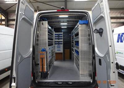 mercedes-van-racking