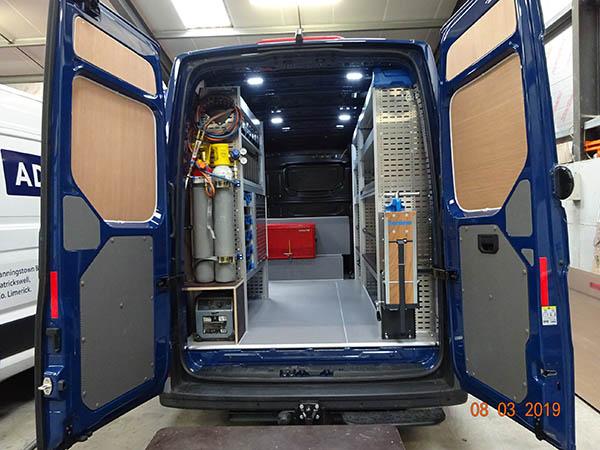 Van Storage Solutions Sortimo Ireland