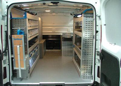 Fiat Racking for Van