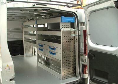 Vanfit Solutions Shelving Fiat