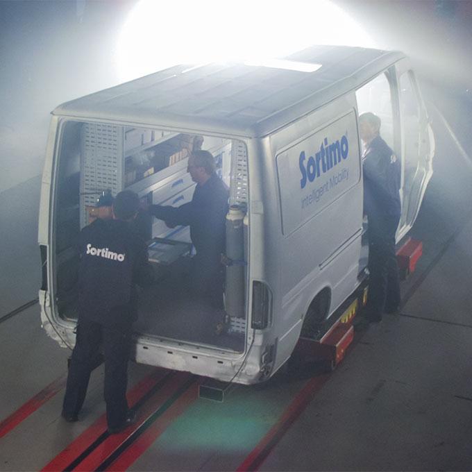 Globelyst4 Van Racking